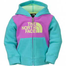 The North Face Logowear Full-Zip Hoodie – Infant Girls'