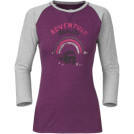 The North Face Adventure Awaits T-Shirt – 3/4-Sleeve – Women's