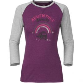 The North Face Adventure Awaits T-Shirt – 3/4-Sleeve – Women's