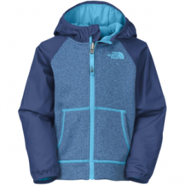 The North Face Canyonlands Track Hooded Fleece Jacket – Boys'
