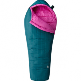 Mountain Hardwear Hotbed Flame Sleeping Bag: 20 Degree Synthetic – Women's
