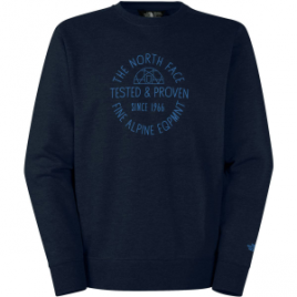 The North Face Tested and Proven Fleece Crew Sweatshirt – Men's