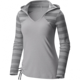 Mountain Hardwear DrySpun Burnout Hooded Shirt – Long-Sleeve – Women's