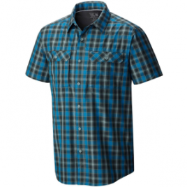 Mountain Hardwear Canyon Plaid Shirt – Short Sleeve – Men's