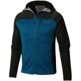 Mountain Hardwear Desna Grid Hooded Fleece Jacket – Men's