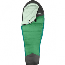 The North Face Green Kazoo Sleeping Bag: 5 Degree Down – Women's