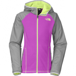 The North Face Glacier Track Full-Zip Hooded Jacket – Girls'