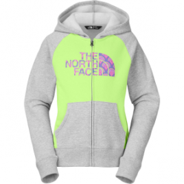 The North Face Logowear Full-Zip Hoodie – Girls'