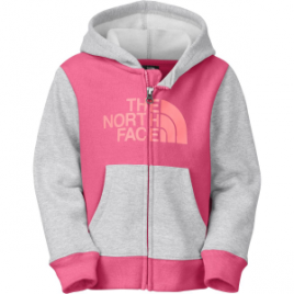 The North Face Logowear Full-Zip Hoodie – Toddler Girls'
