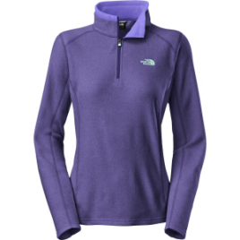 The North Face TKA 100 Microvelour Glacier 1/4-Zip Fleece Pullover – Women's