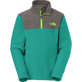 The North Face Glacier 1/4-Zip Fleece Pullover – Boys'