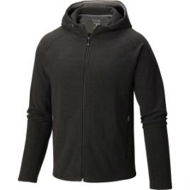 Mountain Hardwear Toasty Twill Fleece Hooded Jacket – Men's