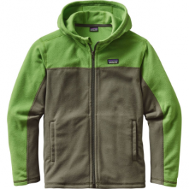Patagonia Micro D Hooded Fleece Jacket – Boys'