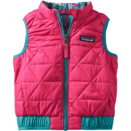 Patagonia Puff-Ball Reversible Vest – Toddler Girls'