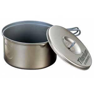 Evernew Titanium Non Stick Pot w/Handle