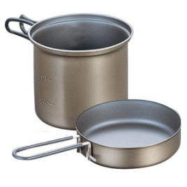 Evernew Titanium Non-Stick Deep Pot