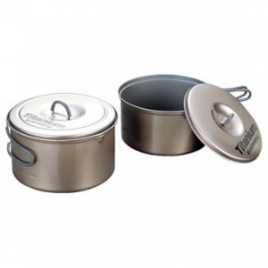 Evernew Titanium Non-stick Pot Set