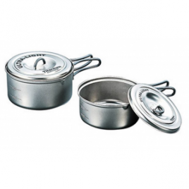 Evernew Titanium Ultralight Pot Set
