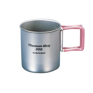 Evernew Titanium Mug – 300FH (Red)