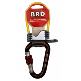 Metolius BRD Belay Device w/Element Screwgate Carabiner