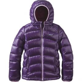 Patagonia Hi-Loft Down Sweater Hooded Jacket – Girls'