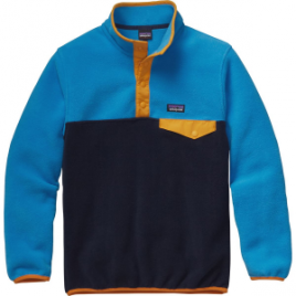 Patagonia Lightweight Synchilla Snap-T Fleece Pullover – Boys'